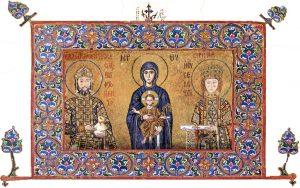 Царица Ирина фреска